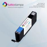 CARTUCCIA 581C Ciano - Blu con inchiostro alimentare per stampante alimentare 770A4