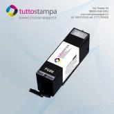 CARTUCCIA 550BK Nero grande con inchiostro alimentare per stampante alimentare 550A3/550A4