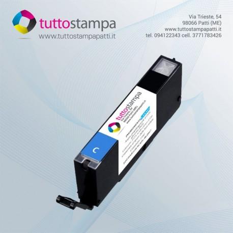 CARTUCCIA 551C Ciano - Blu con inchiostro alimentare per stampante alimentare 550A3/550A4